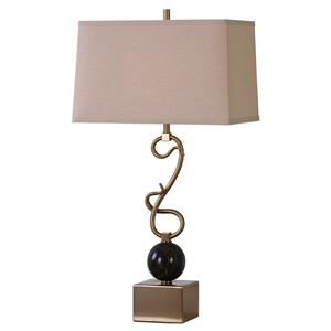 Uttermost Lamps Attila Coffee Bronze Table Lamp