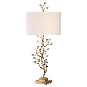Uttermost Lamps Bede Metallic Gold Table Lamp