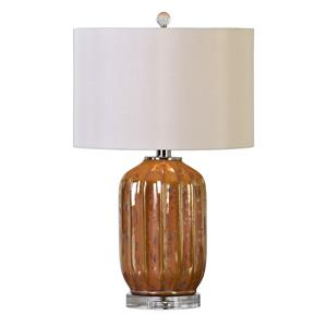 Uttermost Lamps Tiber Rust Bronze Lamp