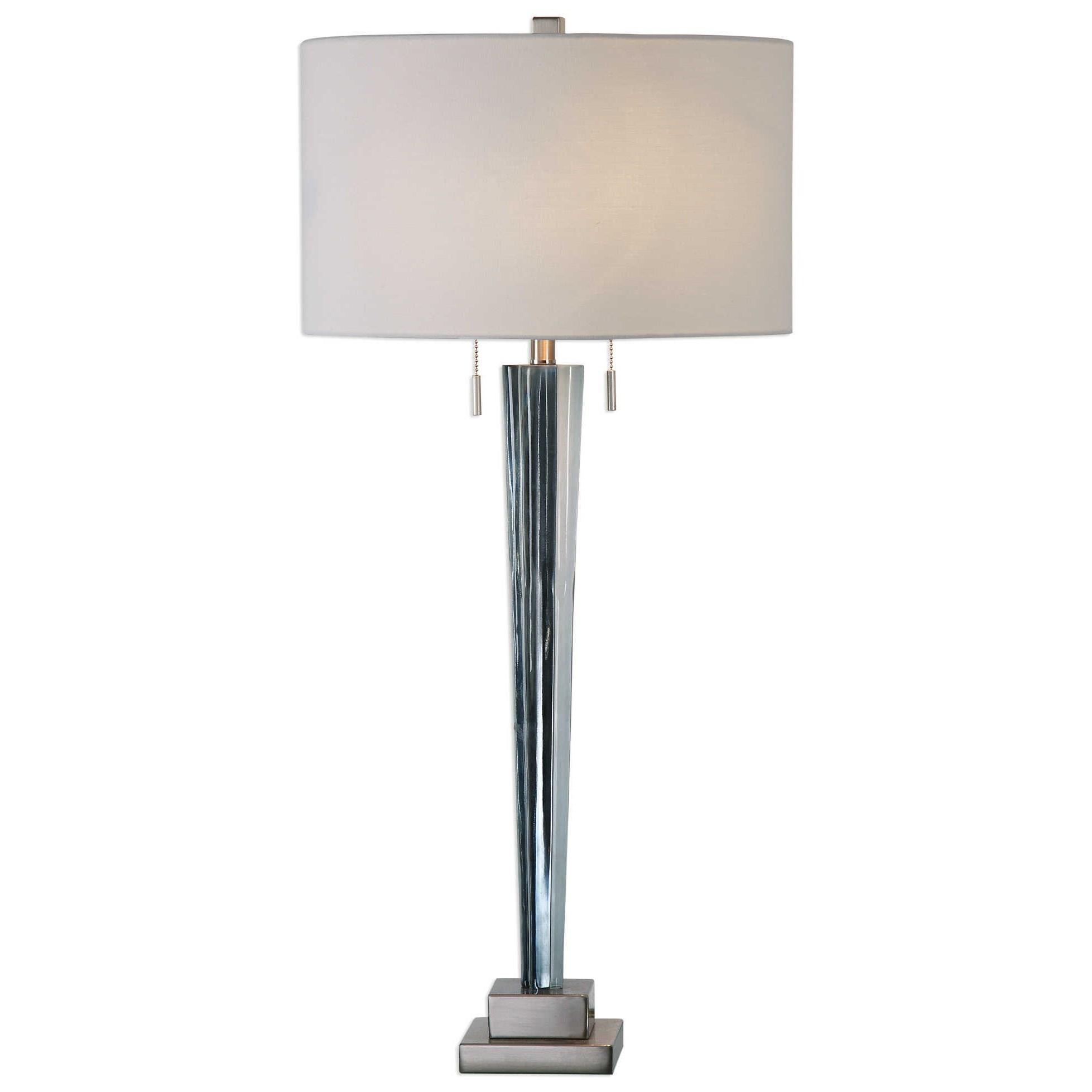Afina Brushed Nickel Table Lamp