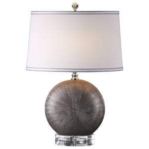Uttermost Lamps Liadan Ceramic Orb Table Lamp