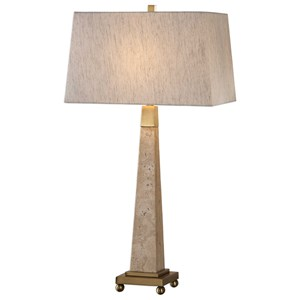 Uttermost Lamps Montolo Marble Table Lamp