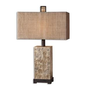 Uttermost Lamps Rustic Pearl Table
