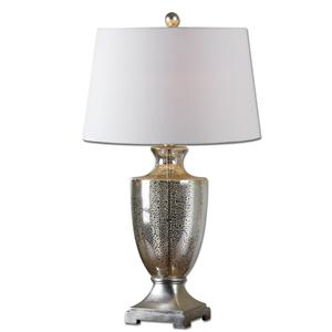 Uttermost Lamps Antonius Mercury Glass Table Lamp