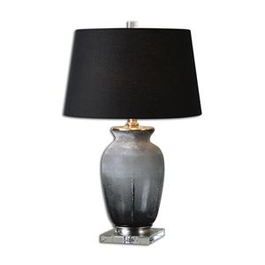 Uttermost Lamps Dionne Smoke Gray Table Lamp