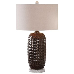Uttermost Lamps Mazur Dark Bronze Table Lamp