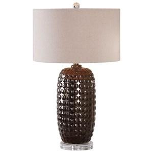 Uttermost Lamps Mazur Dark Bronze Table Lamp