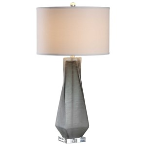 Uttermost Lamps Anatoli Charcoal Gray Table Lamp