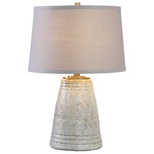 Uttermost Lamps Cholet Textured Ceramic Table Lamp