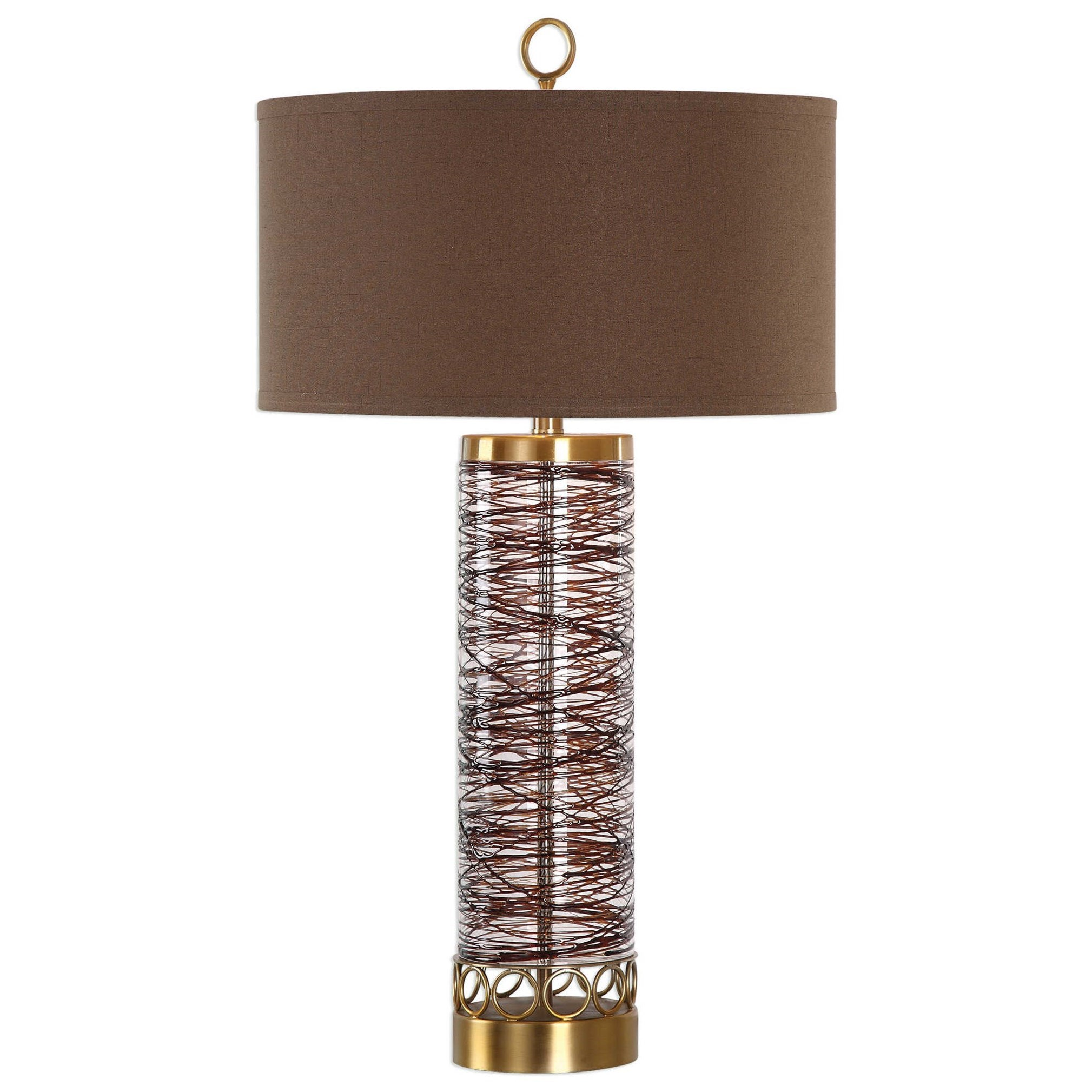 Seaver Spun Glass Table Lamp