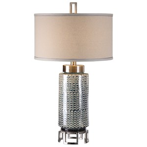 Uttermost Lamps Vanora Cerulean Blue Table Lamp