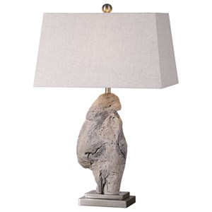 Uttermost Lamps Worley Driftwood Table Lamp