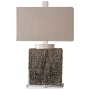 Demetrio Textured Table Lamp