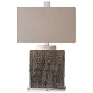 Demetrio Textured Table Lamp