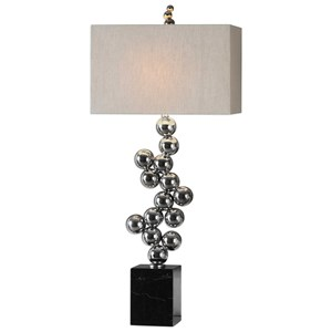 Uttermost Lamps Kesi Metal Spheres Table Lamp
