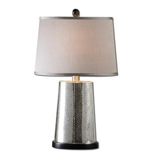 Uttermost Lamps Arnez Mercury Glass Table Lamp