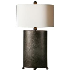 Uttermost Lamps Ruggine Rust Silver Table Lamp