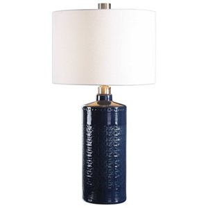 Thalia Royal Blue Table Lamp