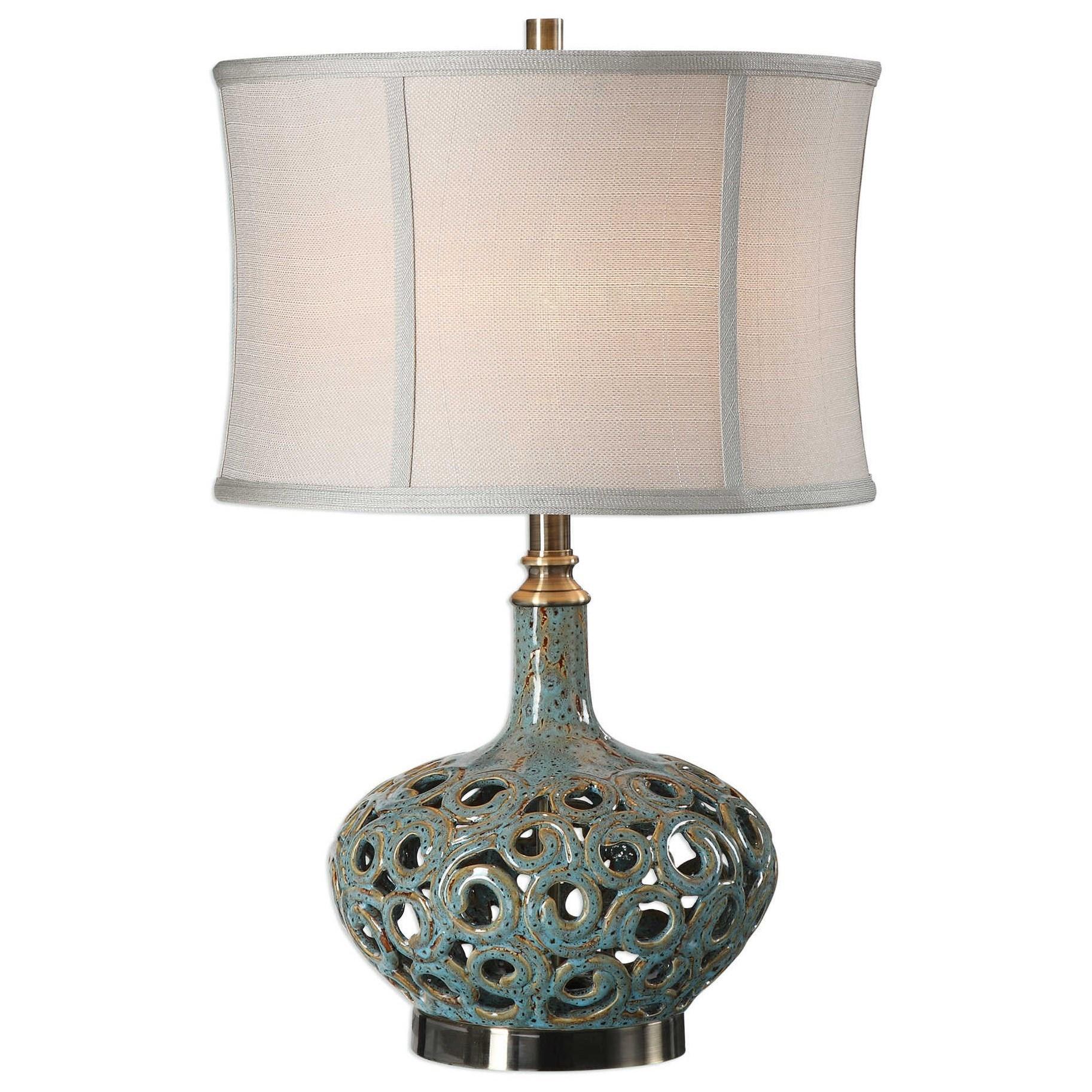Volu Abstract Swirl Lamp