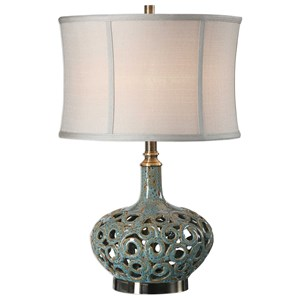 Uttermost Lamps Volu Abstract Swirl Lamp