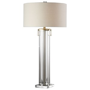 Uttermost Lamps Monette Tall Cylinder Lamp