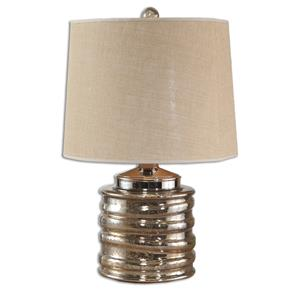 Uttermost Lamps Camerano Mercury Glass Table Lamp