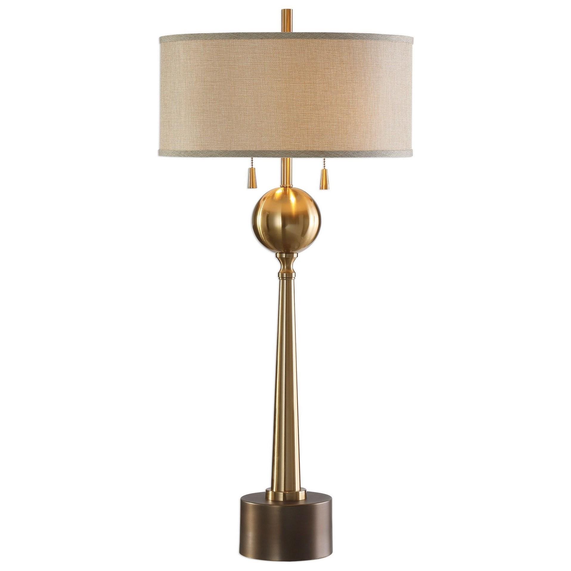 Kensett Antique Bronze Lamp