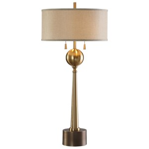 Uttermost Lamps Kensett Antique Bronze Lamp