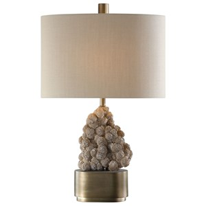 Uttermost Lamps Desert Rose Lamp