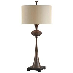 Collbran Woven Rattan Lamp