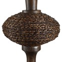 Uttermost Lamps Collbran Woven Rattan Lamp