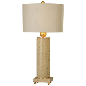 Uttermost Lamps Krisel Oval Column Lamp