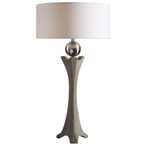 Uttermost Lamps Haver Shaped Concrete Lamp