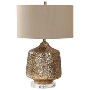 Uttermost Lamps Galaxia Metallic Gold Lamp