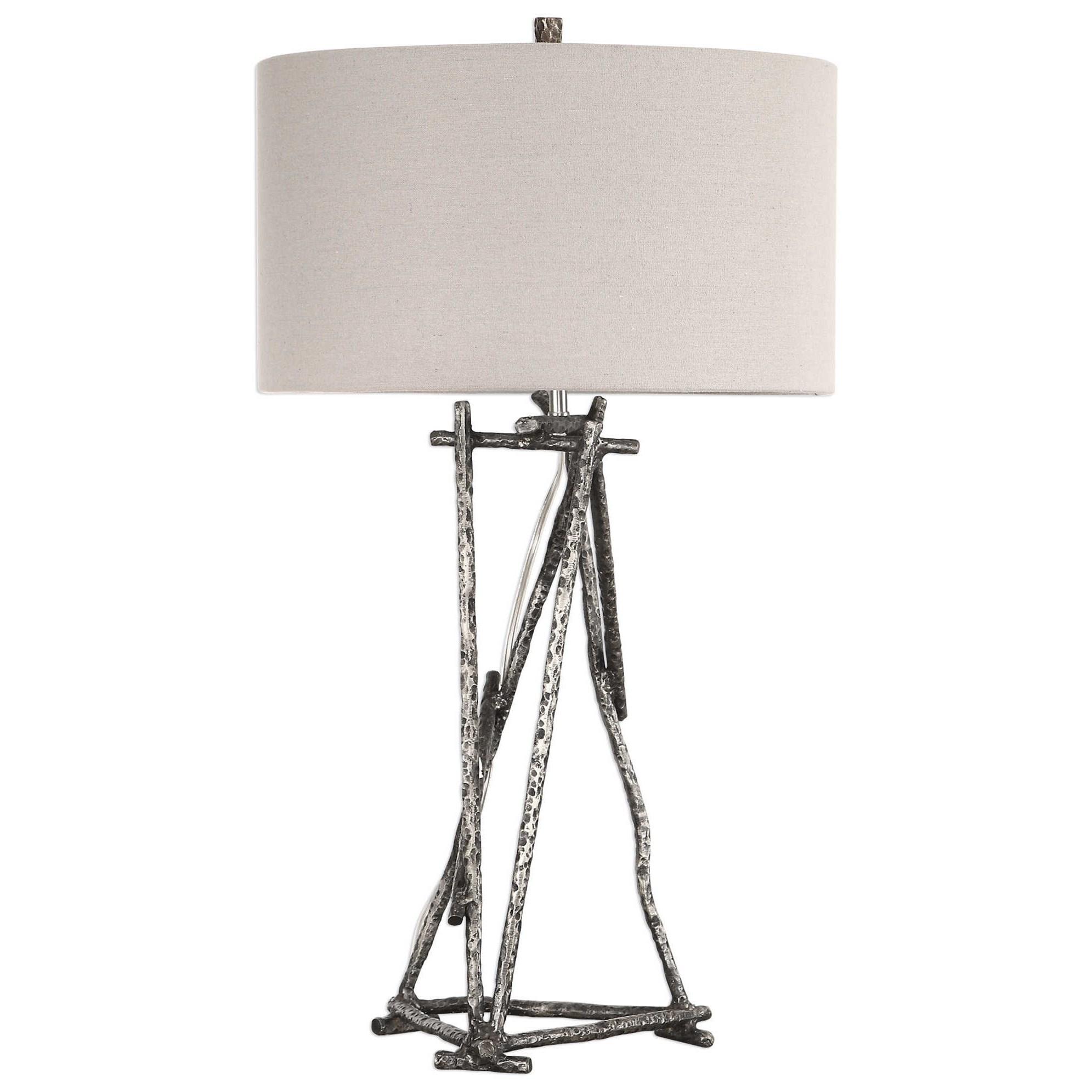 Lakota Brushed Nickel Lamp