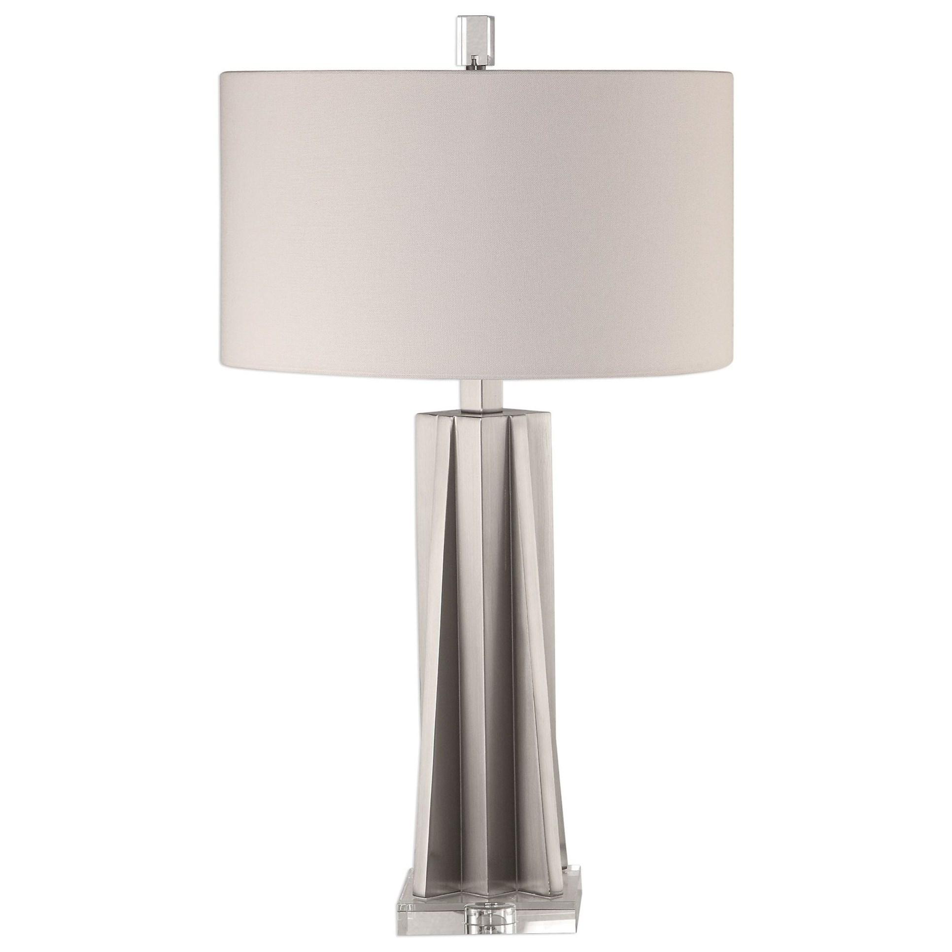 Trinculo Brushed Nickel Lamp