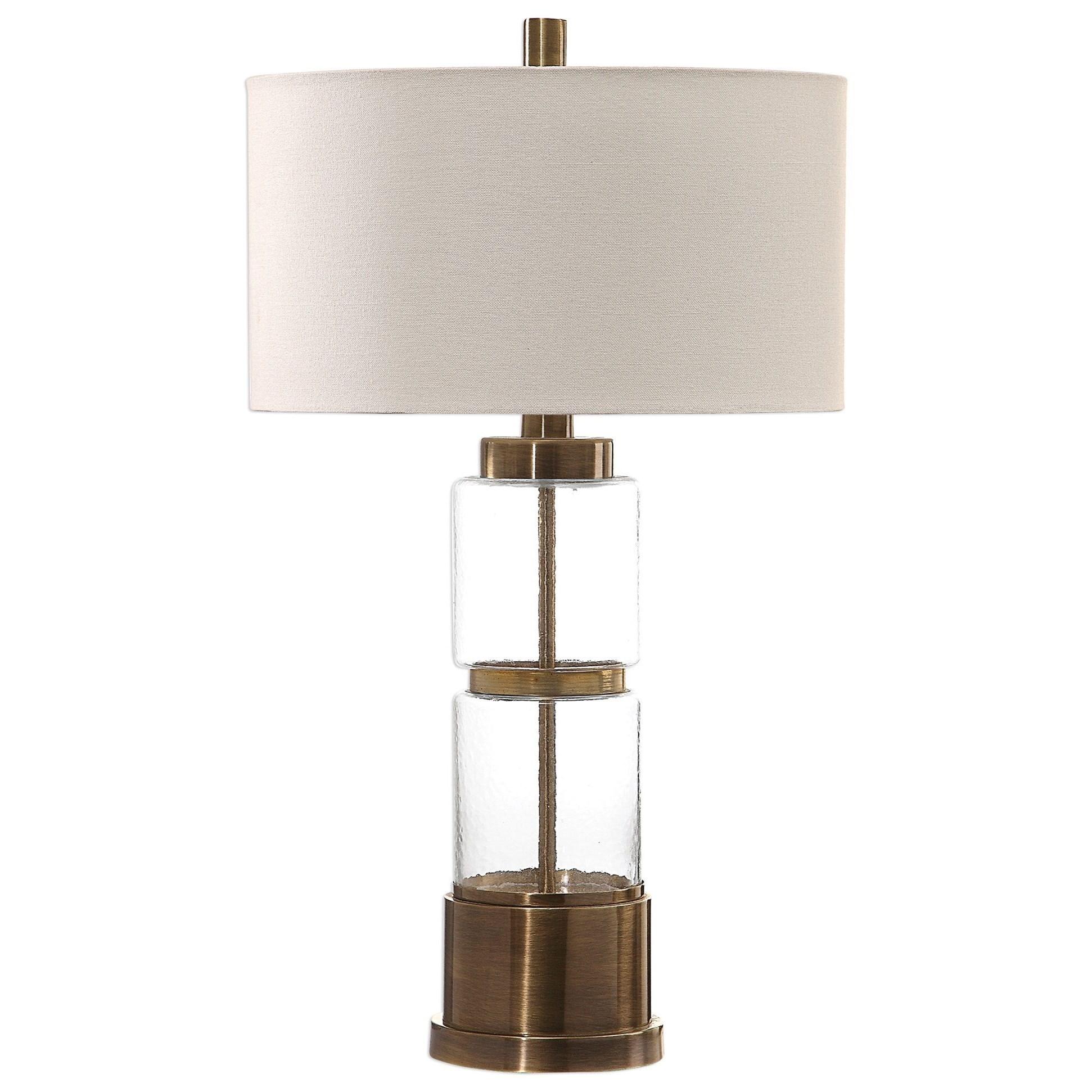 Vaiga Glass Column Lamp