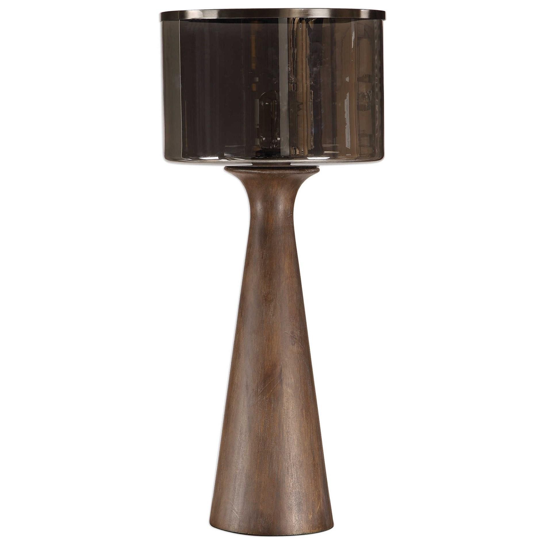 Fernando Walnut Table Lamp