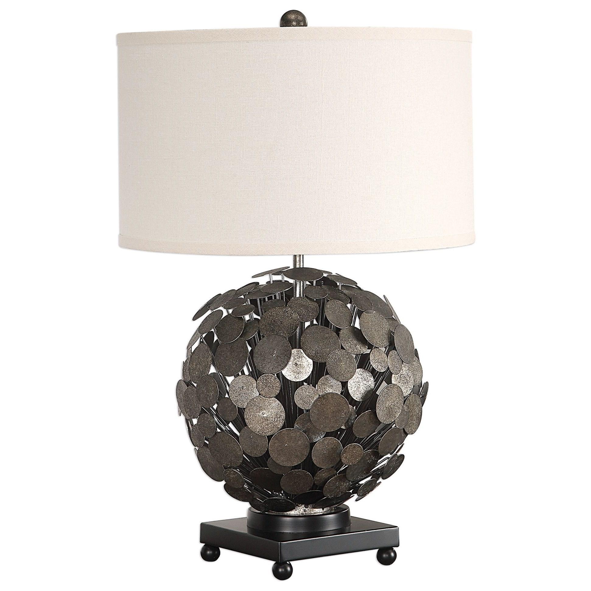 Callisto Steel Disk Table Lamp
