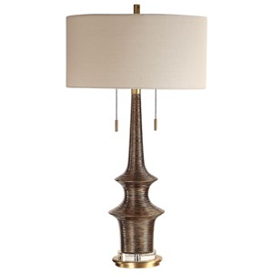 Galatea Antique Gold Lamp