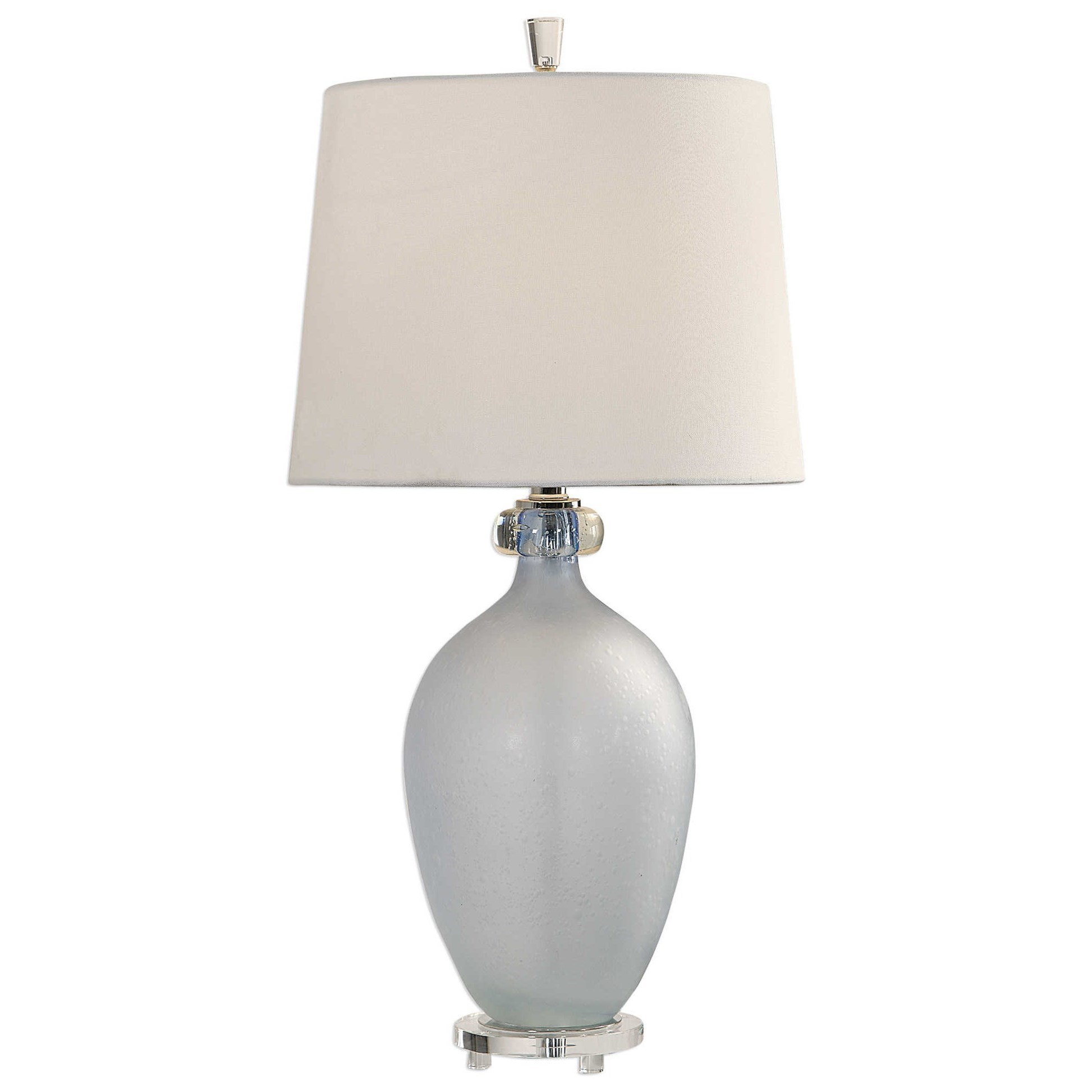 Leah Frosted Glass Table Lamp