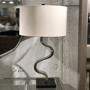 Uttermost Lamps Fialla Nickel Lamp