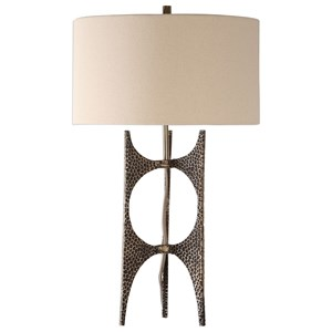Uttermost Lamps Goldia Antique Bronze Lamp