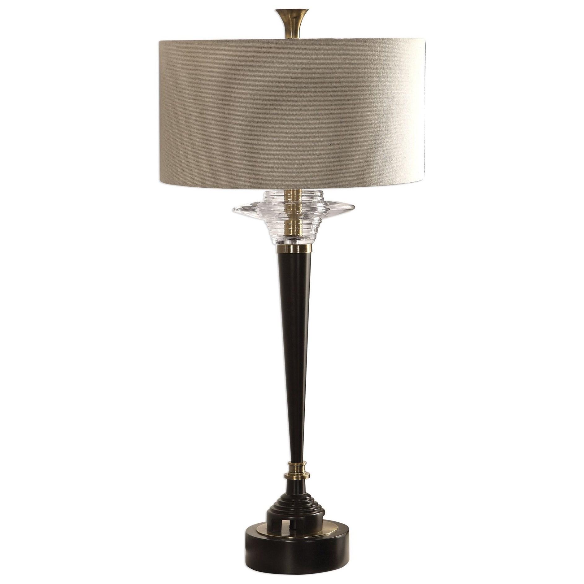 Berton Aged Black Lamp