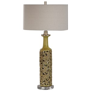 Nellie Yellow-Green Table Lamp