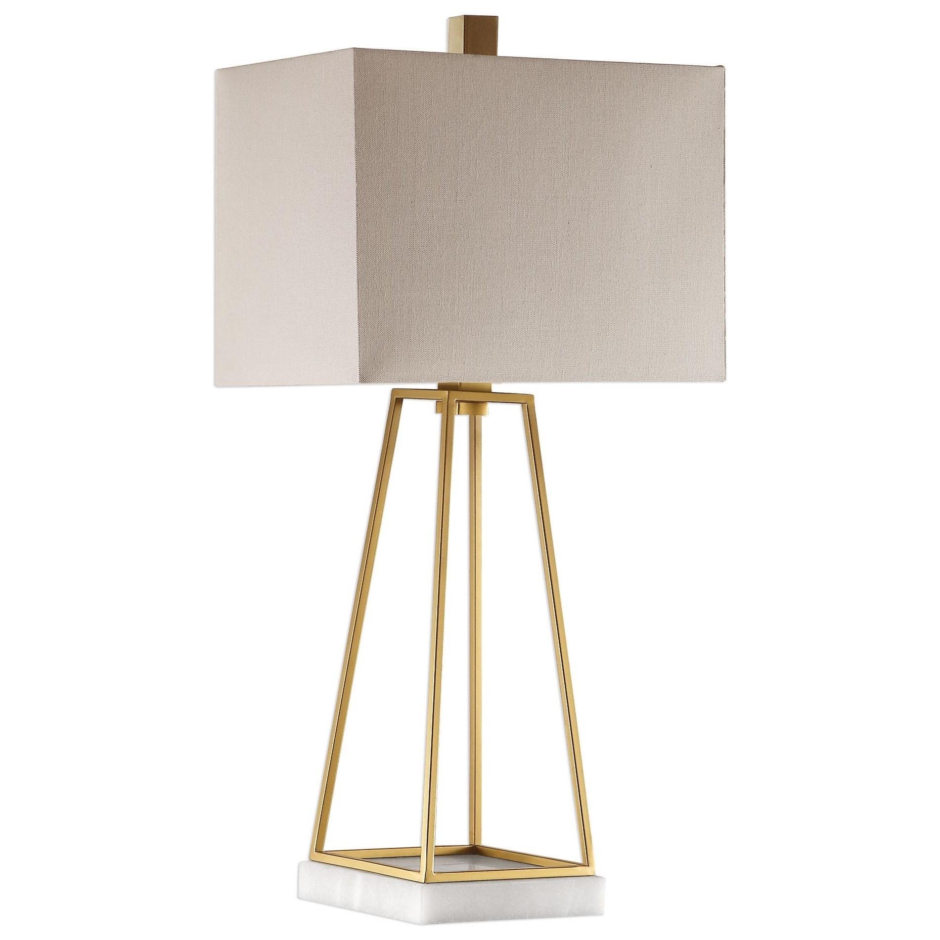 Mackean Metallic Gold Lamp