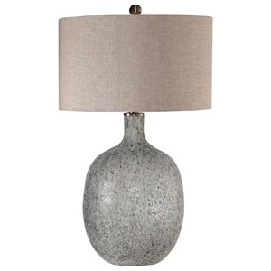 Uttermost Lamps Oceaonna Glass Table Lamp