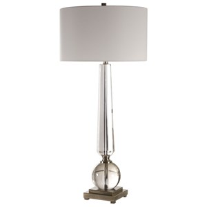 Uttermost Lamps Crista Crystal Lamp