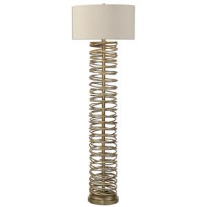 Uttermost Lamps Amarey Metal Ring Floor Lamp