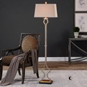 Uttermost Lamps Vincent Gold Floor Lamp